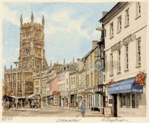 Cirencester by Glyn Martin