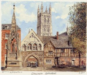 Gloucester Cathedral by Philip Martin
