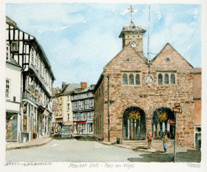 Ross-on-Wye by Philip Martin