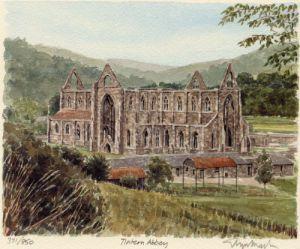 Tintern Abbey by Glyn Martin