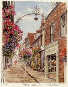 Frome - Cheap Street by Glyn Martin