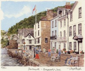 Dartmouth - Bayard's Cove by Glyn Martin