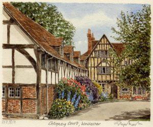 Winchester - Cheyney Court by Glyn Martin