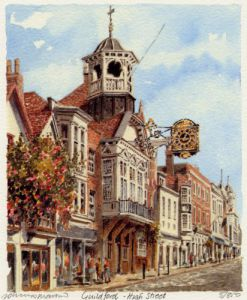 Guildford - High Street by Philip Martin