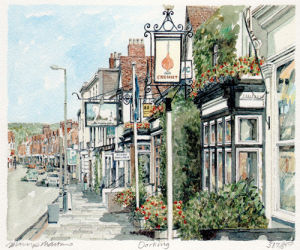 Dorking by Philip Martin