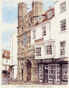 Canterbury - Christchurch Gate by Glyn Martin