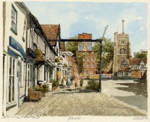 Pinner - High Street by Philip Martin