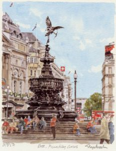 Piccadilly Circus by Glyn Martin