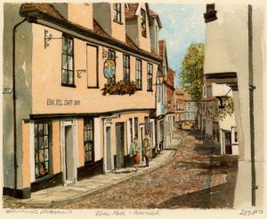 Norwich - Elm Hill by Philip Martin