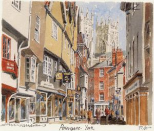 York - Petergate by Philip Martin