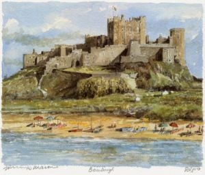 Bamburgh by Philip Martin