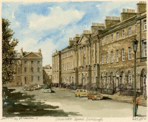 Edinburgh - Charlotte Square by Philip Martin