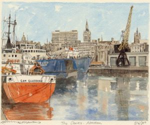 Aberdeen - Docks by Philip Martin