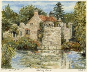 Scotney Castle by Philip Martin