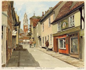Colchester - Trinity St. by Philip Martin