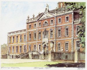 Wimpole Hall by Philip Martin