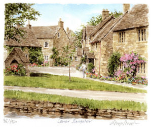 Lower Slaughter by Glyn Martin