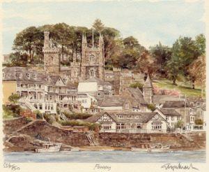 Fowey by Glyn Martin