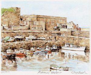 Alderney - Harbour by Glyn Martin