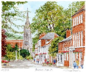 Marlow - High St by Glyn Martin
