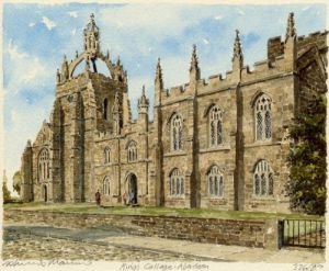 Aberdeen - King's College by Philip Martin
