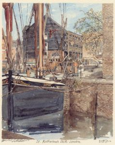 St. Katherine's Dock by Philip Martin