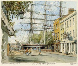 Greenwich - Cutty Sark by Philip Martin