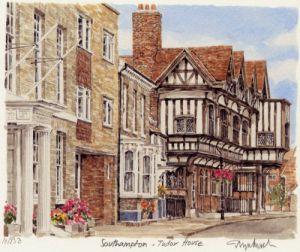 Southampton - Tudor House by Glyn Martin