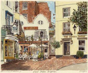 Brighton - East Street by Philip Martin
