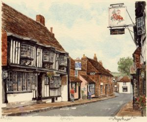 Alfriston by Glyn Martin