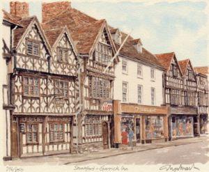 Sratford -'Garrick Inn' by Philip Martin