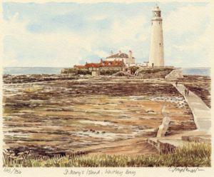 St. Mary's Island by Glyn Martin