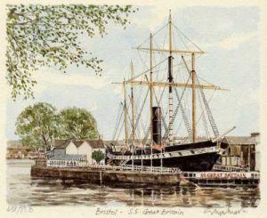 Bristol - SS Great Britain by Glyn Martin