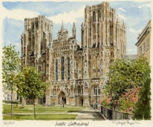 Wells Cathedral by Glyn Martin