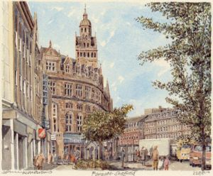 Sheffield - Fargate by Philip Martin