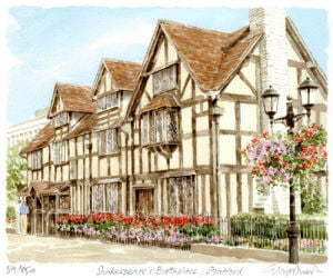 Shakespeare's Birthplace - Stratford by Glyn Martin