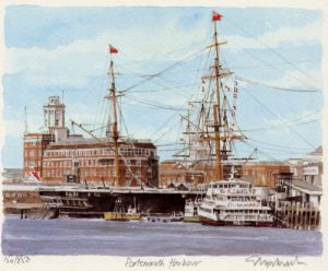 Portsmouth - Harbour by Glyn Martin