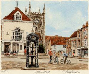 Wallingford - Town by Glyn Martin