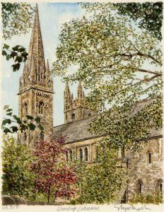 Llandaff Cathedral by Glyn Martin