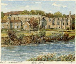 Bolton Abbey by Philip Martin