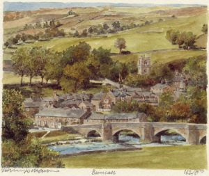 Burnsall by Philip Martin