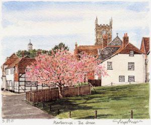 Marlborough - The Green by Glyn Martin