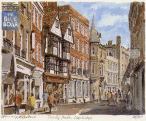 Cambridge - Trinity Street by Philip Martin