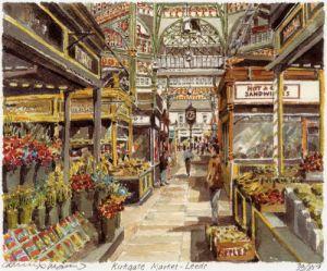Leeds- Kirkgate Market by Philip Martin