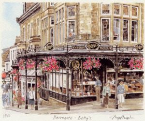 Harrogate -Betty's by Glyn Martin