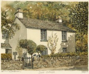 Grasmere - Dove Cottage by Philip Martin