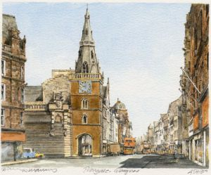 Glasgow - Trongate by Philip Martin