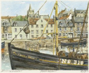 Pittenweem by Philip Martin