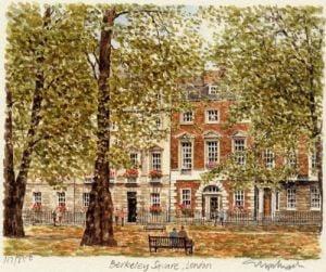 London - Berkley Square by Glyn Martin