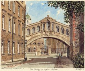 Oxford - Bridge of Sighs by Philip Martin